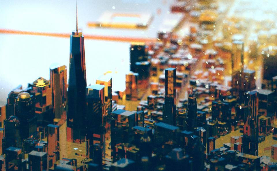 Motion Design title concept art