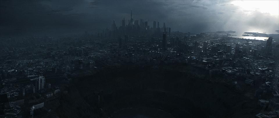 akira city concept art